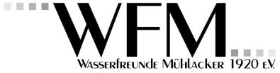 Logo Wasserfreunde Mühlacker 1920 e.V.